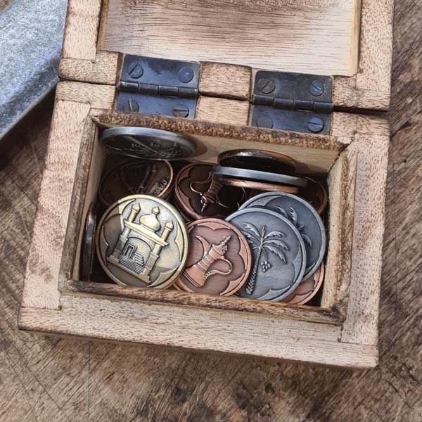 LARP Münzen Set Orient