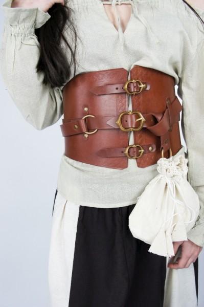 Piraten Prachtgürtel aus Leder