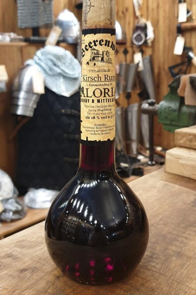 Karibische Kirsche - Kirsch Rum in Elixierflasche