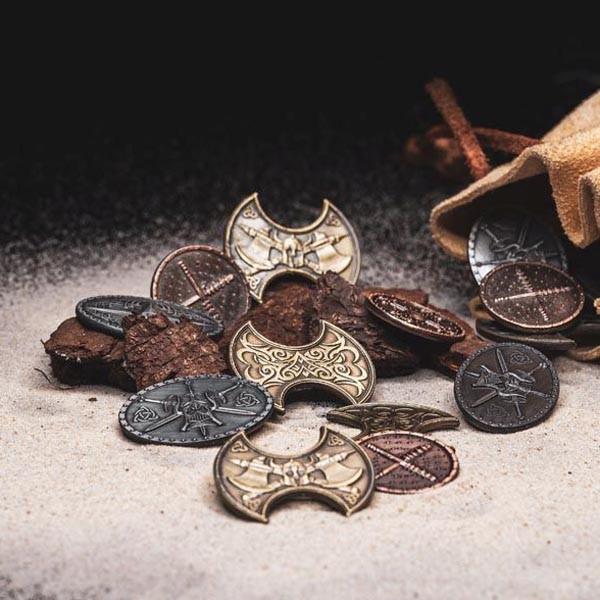 LARP Münzen Set Barbaren