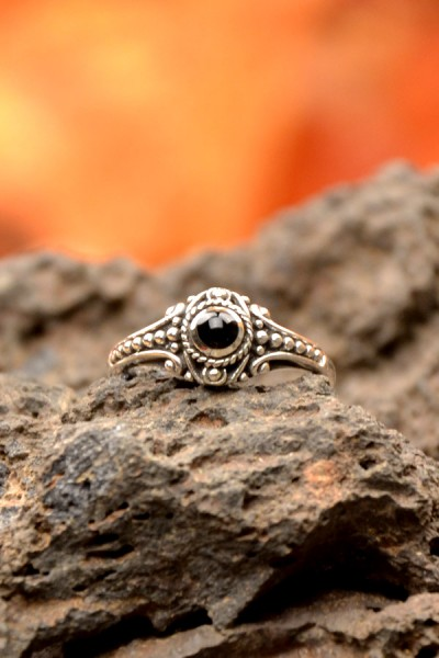 Mittelalter Ring Beisla aus Silber