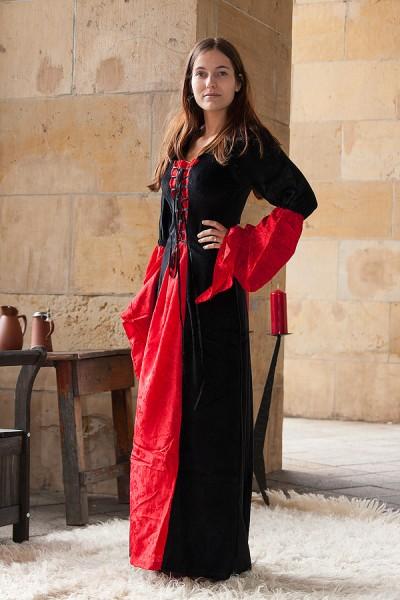 Mittelalter Hexen Kleid Kristina