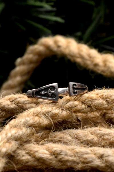 Wikinger Ring Helgi aus Silber