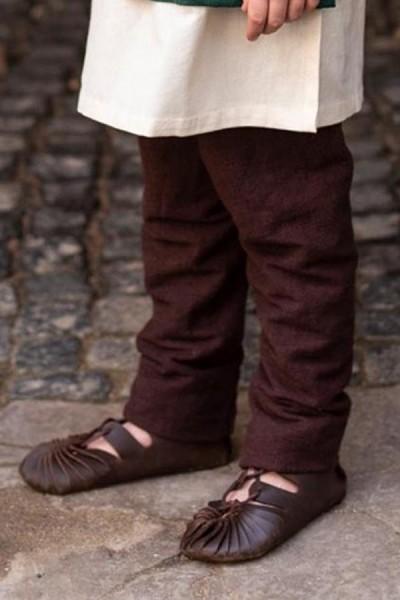 Mittelalter Bundschuhe für Kinder