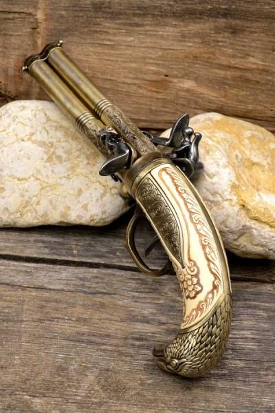 Steinschloßpistole Randall - Dekoration