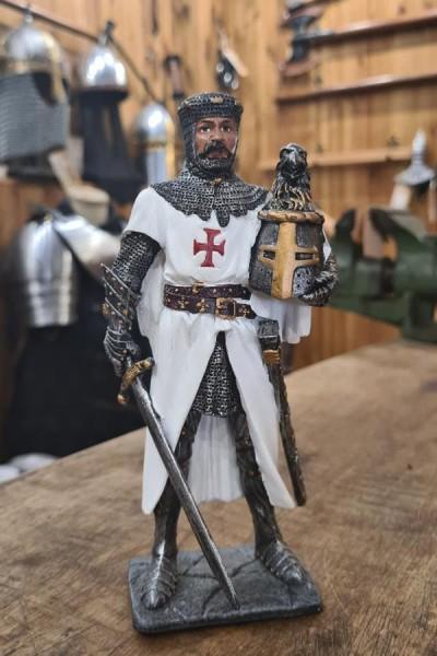 Großmeister der Templer mit Helm - Dekoration