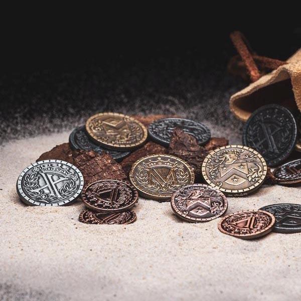 LARP Münzen Set Mittelalter