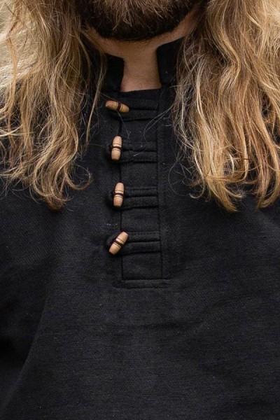 Wikinger Hemd mit Holzknöpfe