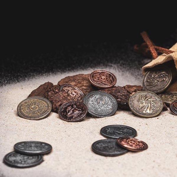 LARP Münzen Set Magier