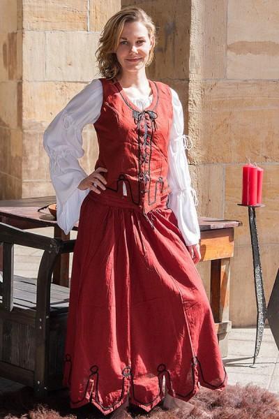 Mittelalter Miederweste Laura
