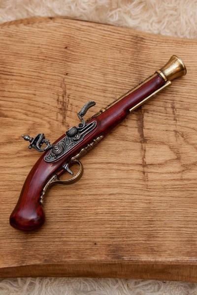 Steinschloßpistole Gregory - Dekoration