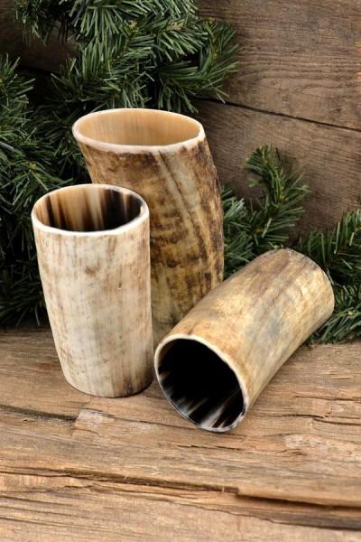 Wikinger Trinkbecher aus Horn
