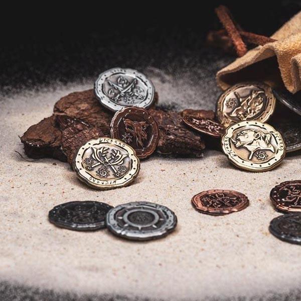 LARP Münzen Set Ork & Goblin