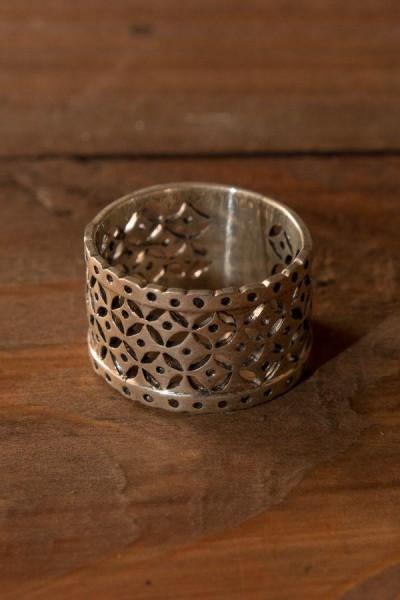 Mittelalter Ring Byzanz aus Silber