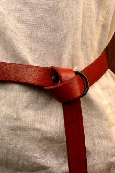 Mittelalter Ringgürtel aus Leder