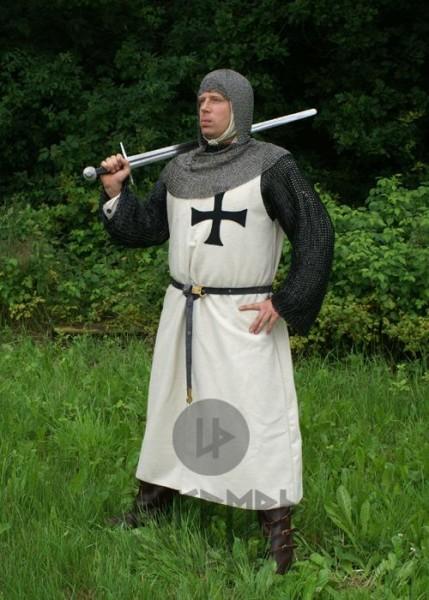 Mittelalter Waffenrock Deutschritter aus Wolle