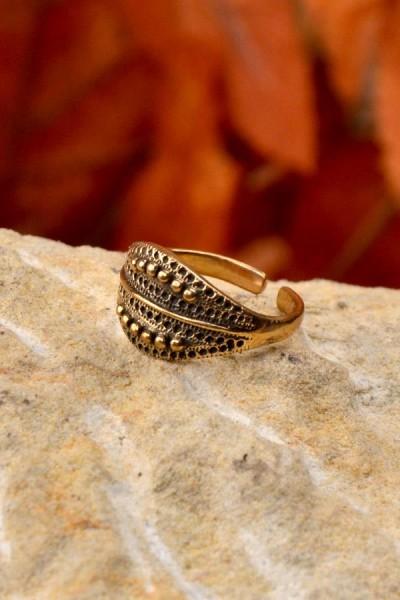 Wikinger Ring Breki aus Bronze