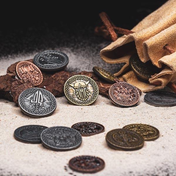 LARP Münzen Set Nordmann