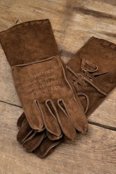 Renaissance Handschuhe aus Leder