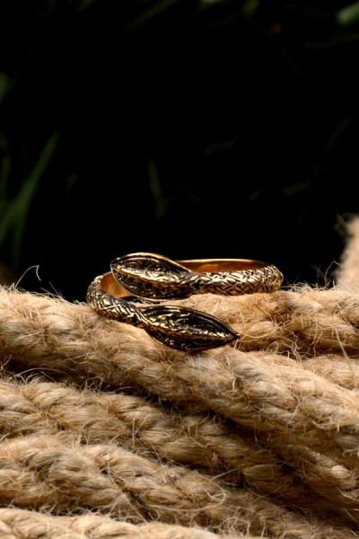 Wikinger Ring Speerspitzen aus Bronze