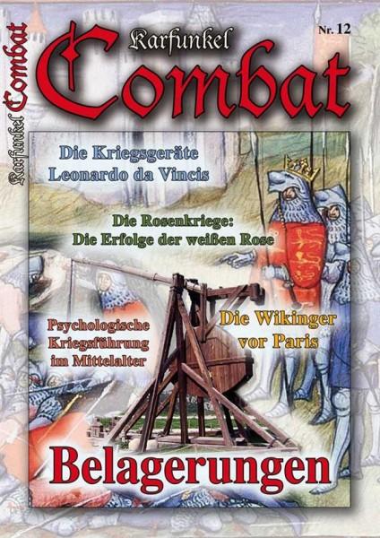 Karfunkel Combat Nr. 12 - Belagerungen im Mittelalter