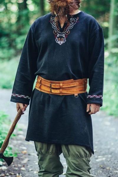 Wikinger Prachtgürtel Harald aus Leder