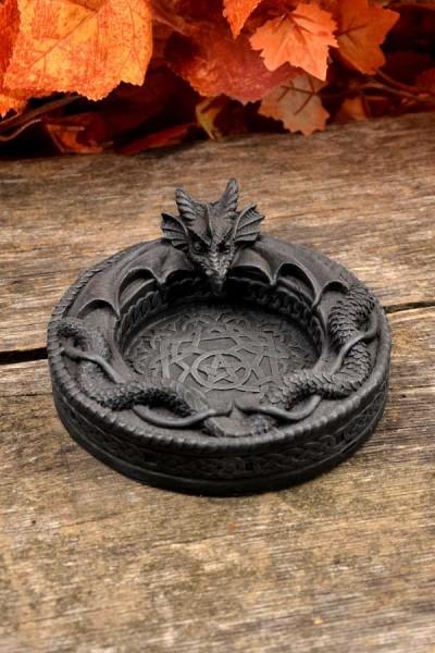 Gothic Aschenbecher Drache