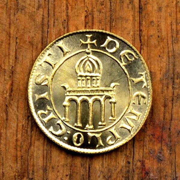 Münze der Templer