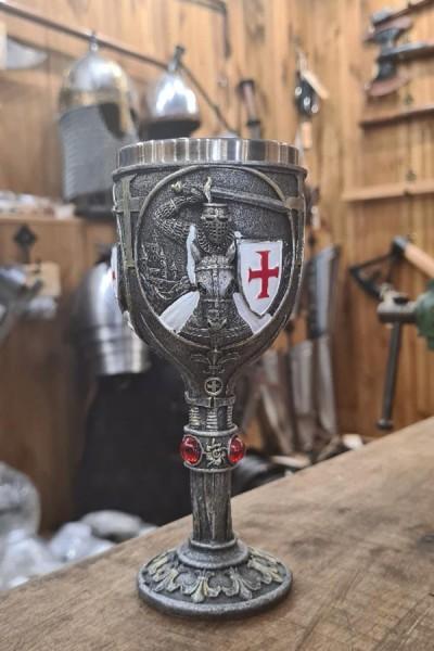 Mittelalter Kelch Templer - Dekoration