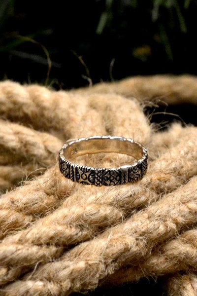 Wikinger Ring Horik aus Silber