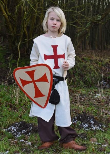Mittelalter Waffenrock Templer für Kinder