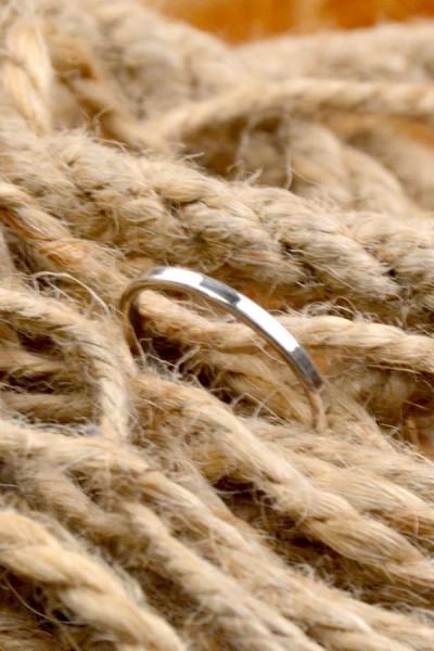 Mittelalter Ring aus Silber