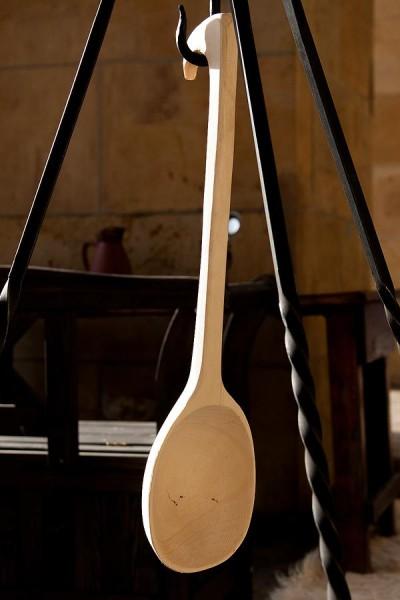 Mittelalter Schöpfkelle aus Holz