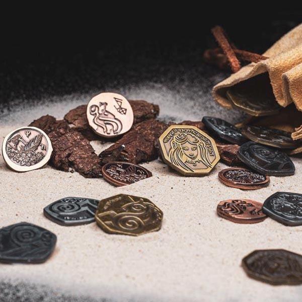 LARP Münzen Set Reiter
