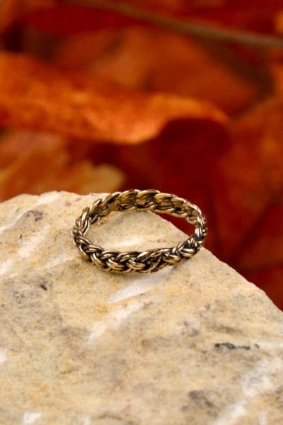 Wikinger Ring Gefjon Aus Bronze Aloria