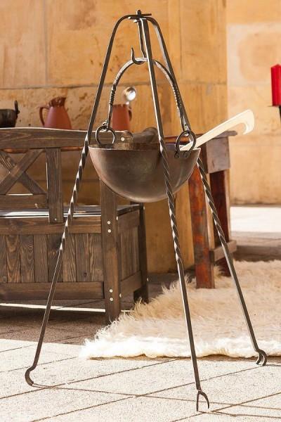 Mittelalter Dreibein - handgeschmiedet