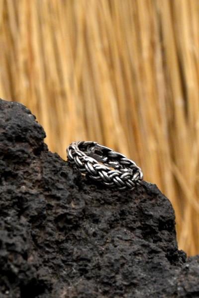 Wikinger Ring Gefjon aus Silber