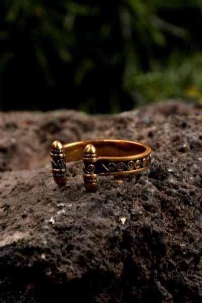 Wikinger Ring Utrecht aus Bronze