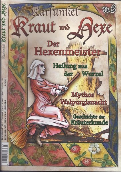 Karfunkel Kraut und Hexe Nr. 3 Hexenmeister und Walpurgisnacht