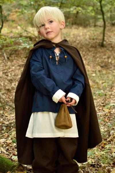 Mittelalter Umhang Chris für Kinder