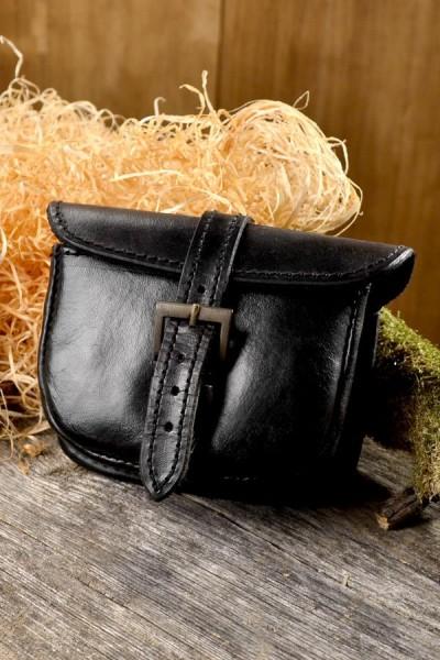 Mittelalter Gürteltasche Wernher aus Leder