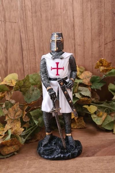Tempelritter mit Schwert - handbemalt