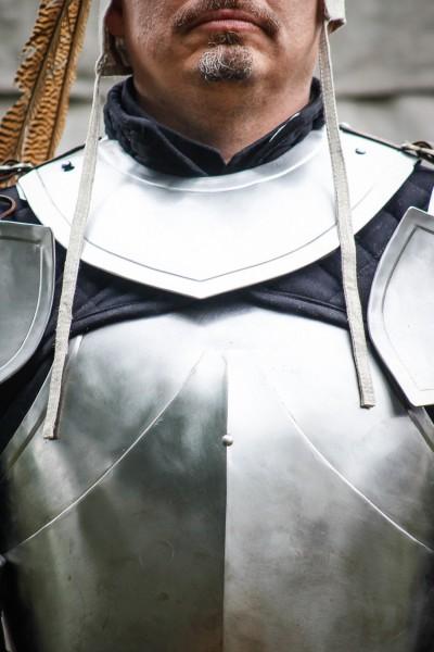 Kragen Rouven aus Stahl von Freyhand