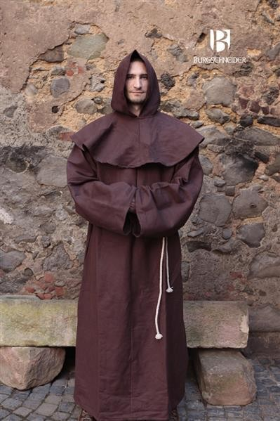 Mittelalter Mönchskutte Franziskaner von Burgschneider