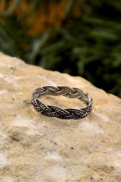Wikinger Ring Gyda aus Silber