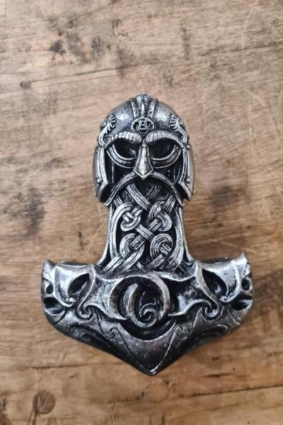 Wikinger Schatulle Thorhammer mit Runen