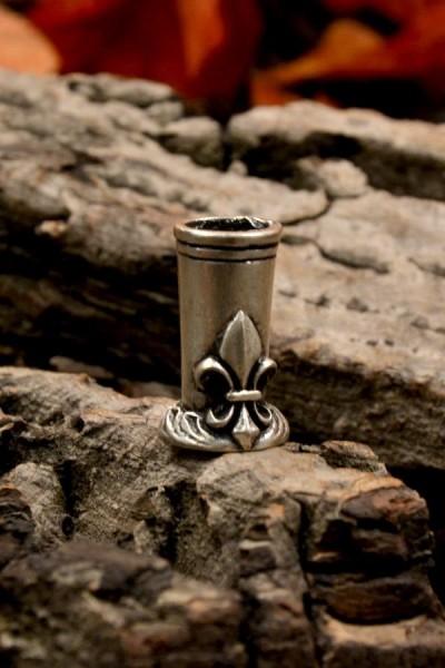 Metallhalter Lilie für Schreibfeder