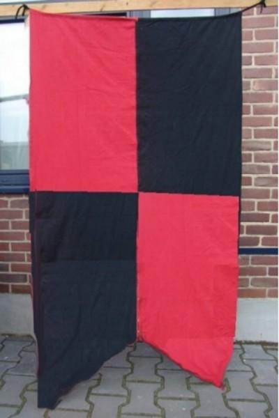 Mittelalter Fahne 4-geteilt
