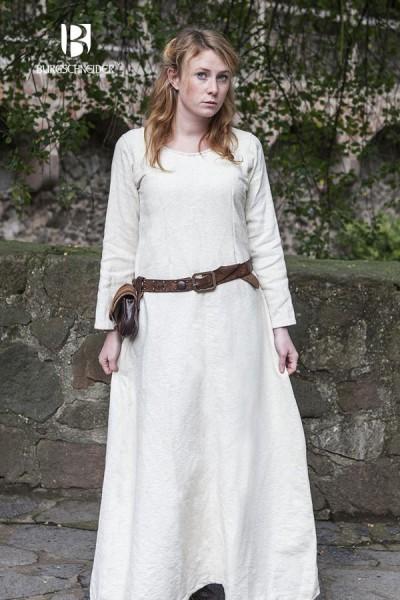Mittelalter Winter Unterkleid Thora von Burgschneider