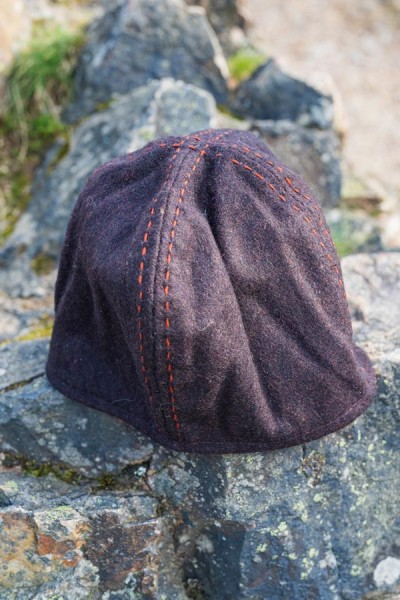 Wikingermütze aus Wolle